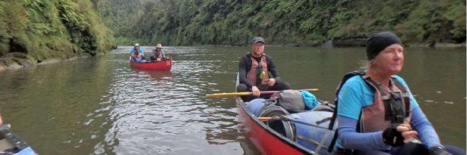 Paddling the Whanganui
